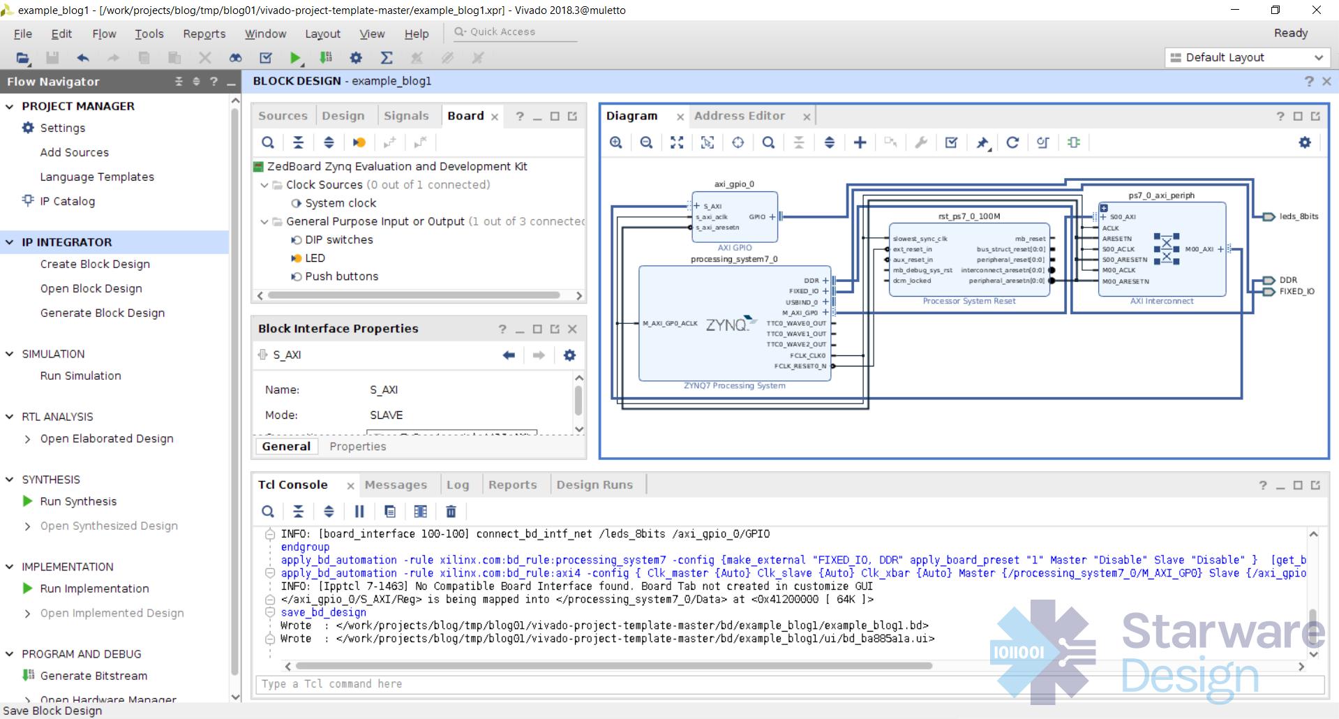 Starware Design Ltd - FPGA meets DevOps - Xilinx Vivado and Git